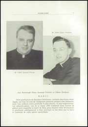 Page 9, 1952 Edition, Notre Dame High School - Yearbook (Berlin, NH) online yearbook collection
