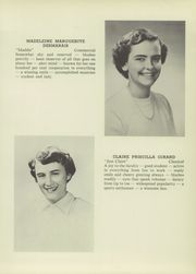 Page 6, 1951 Edition, St Mary High School - Marian Yearbook (Claremont, NH) online yearbook collection
