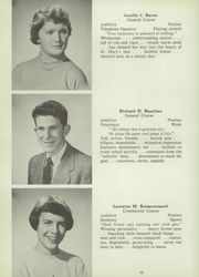 Page 16, 1953 Edition, St Mary High School - Marian Yearbook (Claremont, NH) online yearbook collection