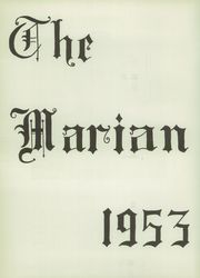 Page 6, 1953 Edition, St Mary High School - Marian Yearbook (Claremont, NH) online yearbook collection