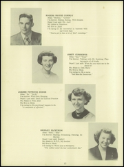 Page 14, 1951 Edition, Towle High School - Spirit Yearbook (Newport, NH) online yearbook collection