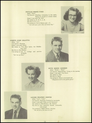 Page 15, 1951 Edition, Towle High School - Spirit Yearbook (Newport, NH) online yearbook collection