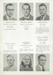 Page 10, 1954 Edition, Towle High School - Spirit Yearbook (Newport, NH) online yearbook collection