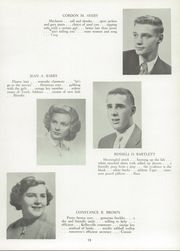Page 17, 1954 Edition, Towle High School - Spirit Yearbook (Newport, NH) online yearbook collection