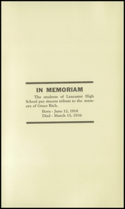 Page 7, 1936 Edition, Lancaster High School - Lancastrian Yearbook (Lancaster, NH) online yearbook collection