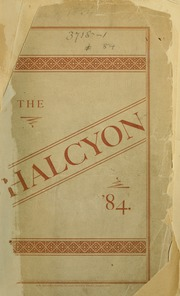 Page 1, 1884 Edition, Swarthmore College - Halcyon Yearbook (Swarthmore, PA) online yearbook collection