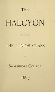 Page 11, 1888 Edition, Swarthmore College - Halcyon Yearbook (Swarthmore, PA) online yearbook collection