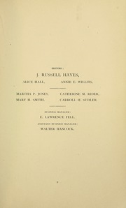 Page 13, 1888 Edition, Swarthmore College - Halcyon Yearbook (Swarthmore, PA) online yearbook collection