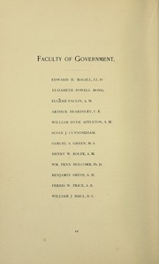 Page 16, 1888 Edition, Swarthmore College - Halcyon Yearbook (Swarthmore, PA) online yearbook collection