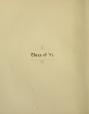 Page 16, 1891 Edition, Swarthmore College - Halcyon Yearbook (Swarthmore, PA) online yearbook collection