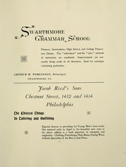 Page 11, 1898 Edition, Swarthmore College - Halcyon Yearbook (Swarthmore, PA) online yearbook collection