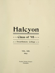 Page 17, 1898 Edition, Swarthmore College - Halcyon Yearbook (Swarthmore, PA) online yearbook collection