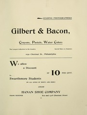 Page 9, 1898 Edition, Swarthmore College - Halcyon Yearbook (Swarthmore, PA) online yearbook collection