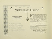 Page 10, 1902 Edition, Swarthmore College - Halcyon Yearbook (Swarthmore, PA) online yearbook collection