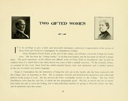 Page 13, 1907 Edition, Swarthmore College - Halcyon Yearbook (Swarthmore, PA) online yearbook collection