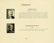 Page 17, 1907 Edition, Swarthmore College - Halcyon Yearbook (Swarthmore, PA) online yearbook collection
