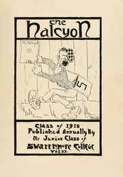 Page 7, 1918 Edition, Swarthmore College - Halcyon Yearbook (Swarthmore, PA) online yearbook collection