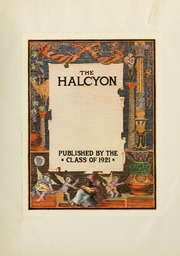 Page 7, 1921 Edition, Swarthmore College - Halcyon Yearbook (Swarthmore, PA) online yearbook collection