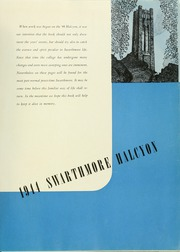 Page 5, 1944 Edition, Swarthmore College - Halcyon Yearbook (Swarthmore, PA) online yearbook collection