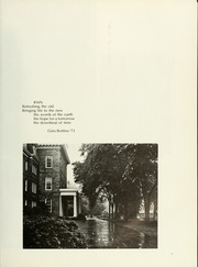 Page 9, 1973 Edition, Swarthmore College - Halcyon Yearbook (Swarthmore, PA) online yearbook collection
