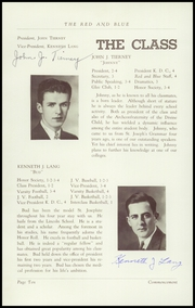 Page 12, 1938 Edition, St Josephs High School - Red and Blue Yearbook (Manchester, NH) online yearbook collection