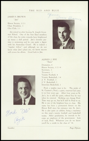 Page 17, 1938 Edition, St Josephs High School - Red and Blue Yearbook (Manchester, NH) online yearbook collection