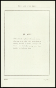 Page 5, 1938 Edition, St Josephs High School - Red and Blue Yearbook (Manchester, NH) online yearbook collection