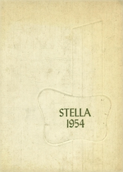 1954 Edition, Academy of Our Lady of Grace - Stella Yearbook (Colebrook, NH)