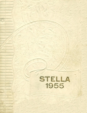 1955 Edition, Academy of Our Lady of Grace - Stella Yearbook (Colebrook, NH)