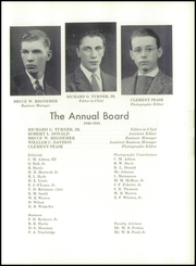 Page 63, 1941 Edition, Clark School - Annual Yearbook (Hanover, NH) online yearbook collection