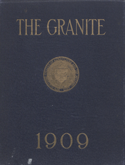 Page 1, 1909 Edition, University of New Hampshire - Granite Yearbook (Durham, NH) online yearbook collection