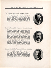 Page 16, 1909 Edition, University of New Hampshire - Granite Yearbook (Durham, NH) online yearbook collection