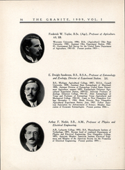 Page 17, 1909 Edition, University of New Hampshire - Granite Yearbook (Durham, NH) online yearbook collection