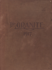 University of New Hampshire - Granite Yearbook (Durham, NH) online yearbook collection, 1917 Edition, Page 1