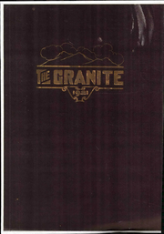 University of New Hampshire - Granite Yearbook (Durham, NH) online yearbook collection, 1921 Edition, Page 1