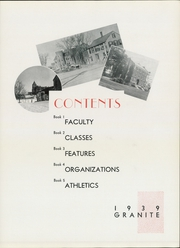 Page 15, 1939 Edition, University of New Hampshire - Granite Yearbook (Durham, NH) online yearbook collection