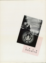 Page 7, 1939 Edition, University of New Hampshire - Granite Yearbook (Durham, NH) online yearbook collection