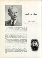 Page 22, 1950 Edition, University of New Hampshire - Granite Yearbook (Durham, NH) online yearbook collection