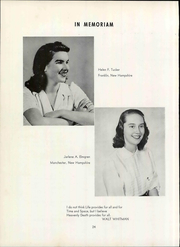 Page 30, 1950 Edition, University of New Hampshire - Granite Yearbook (Durham, NH) online yearbook collection