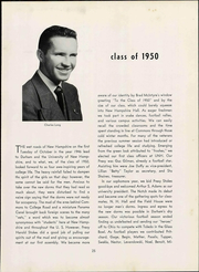 Page 31, 1950 Edition, University of New Hampshire - Granite Yearbook (Durham, NH) online yearbook collection