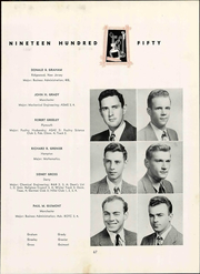 Page 73, 1950 Edition, University of New Hampshire - Granite Yearbook (Durham, NH) online yearbook collection