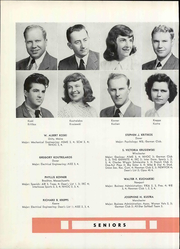 Page 88, 1950 Edition, University of New Hampshire - Granite Yearbook (Durham, NH) online yearbook collection
