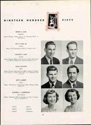 Page 89, 1950 Edition, University of New Hampshire - Granite Yearbook (Durham, NH) online yearbook collection