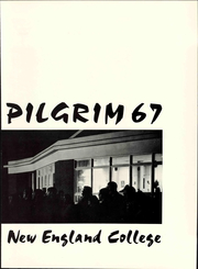 Page 9, 1967 Edition, New England College - Pilgrim Yearbook (Henniker, NH) online yearbook collection