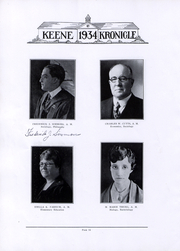 Page 13, 1934 Edition, Keene State College - Kronicle Yearbook (Keene, NH) online yearbook collection