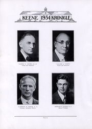 Page 15, 1934 Edition, Keene State College - Kronicle Yearbook (Keene, NH) online yearbook collection