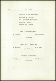 Page 14, 1925 Edition, Tilton School - Tower Yearbook (Tilton, NH) online yearbook collection