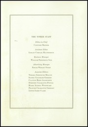 Page 9, 1925 Edition, Tilton School - Tower Yearbook (Tilton, NH) online yearbook collection