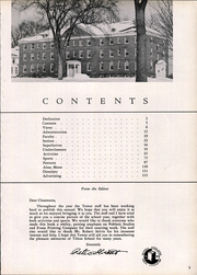 Page 9, 1951 Edition, Tilton School - Tower Yearbook (Tilton, NH) online yearbook collection