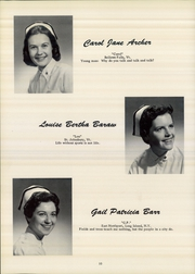 Page 14, 1958 Edition, Mary Hitchcock Memorial School of Nursing - SON Shine Yearbook (Hanover, NH) online yearbook collection